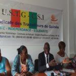 Conférence internationale du travail à Genève : la délégation USTG dirigée par Abdoulaye Camara, fait son compte rendu