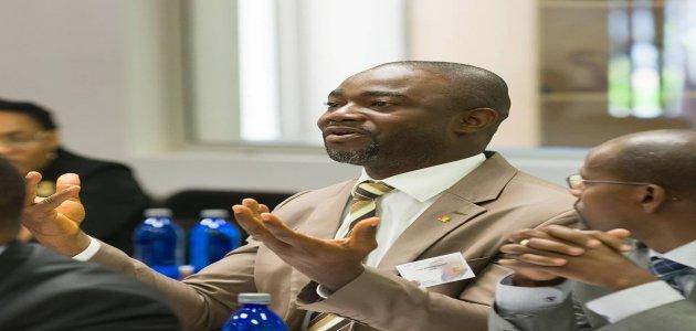 """Mohamed DIAWARA, juge au tribunal de première instance de Kaloum, lauréat de la 2ème promotion du Projet """"Rajeunir et Féminiser l'Administration Publique Guinéenne"""""""